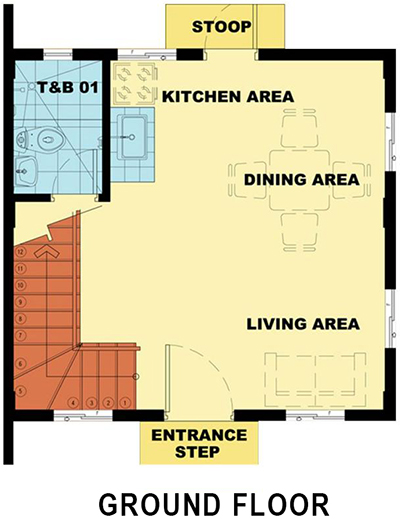 bella ground floor plan