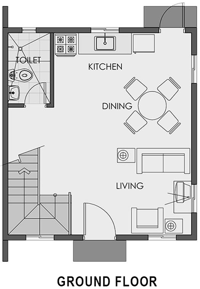 cara ground floor plan