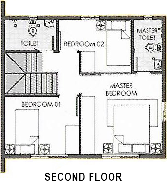 dana second floor plan
