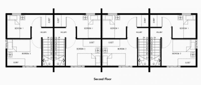 arielle second floor plan