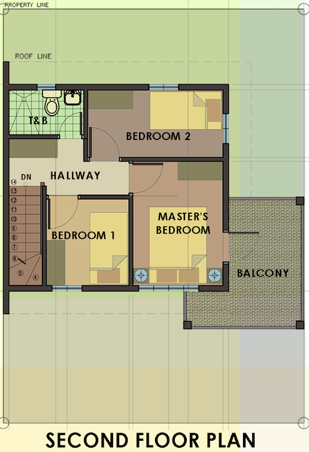 carmina downhill second floor plan