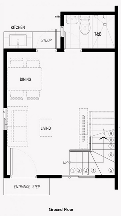 criselle house ground floor plan