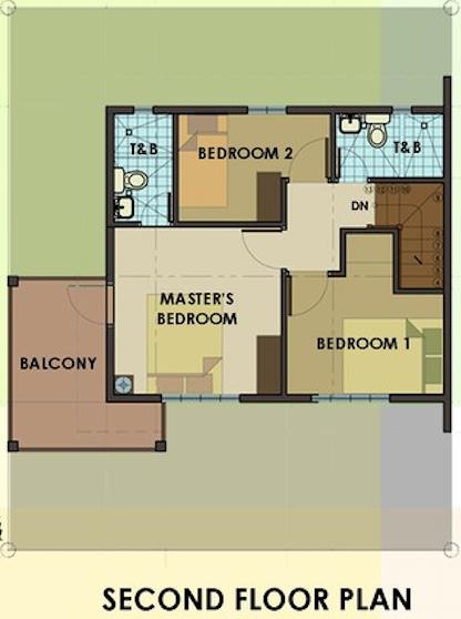 dorina downhill second floor plan