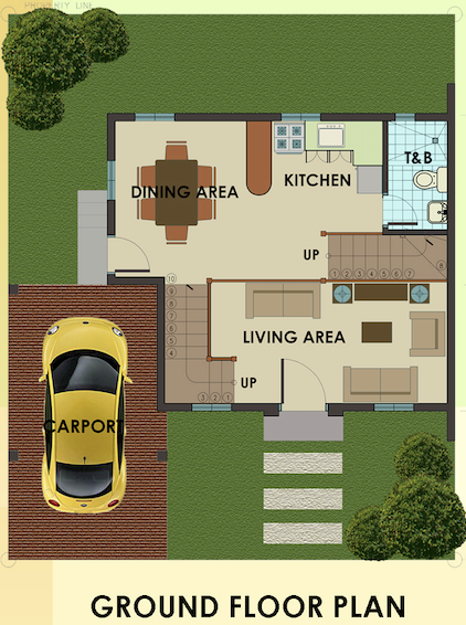 dorina uphill ground floor plan