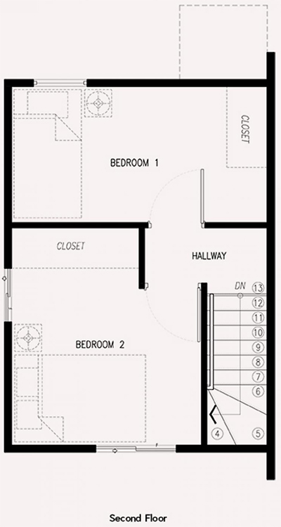ezabelle second floor plan