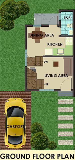 mariana downhill ground floor plan