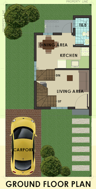 mariana downhill ground floor plan